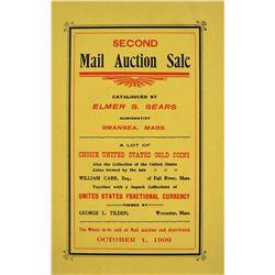 Elmer Sear's Scarce Carr & Tilden Sale
