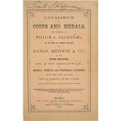 The Lilliendahl Sale of 1862