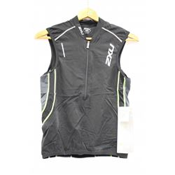 2XU MENS ENDURANCE 3 POCKET TRI TOP SIZE MEDIUM