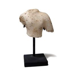 A Roman marble torso from a statue