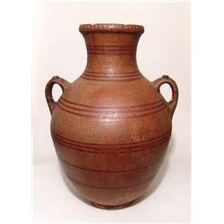 A large Hellenistic lidded amphora