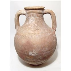 An attractive Roman ceramic amphora