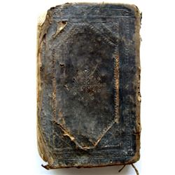 Christian Book of Prayers from early 17th Century