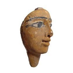 A nice Egyptian wood 'Mummy' mask