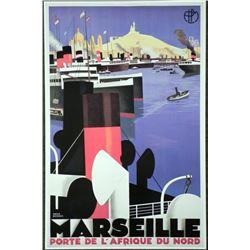 Marseille Porte De L'Afrique Du Nord Broders Art Print