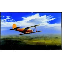 Aviation Art Wichita Classic Buckland Beech Staggerwing