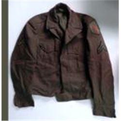 Vintage WW2 United States Army Ike Jacket Size 34R WWII