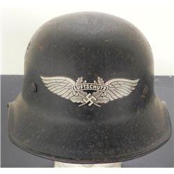 WWII German Luftschutz Nazi Helmet