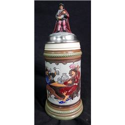 Alt-Grenzau Lidded German Post War Beer Stein