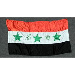 American Soldier's Bringback Iraqi Flag
