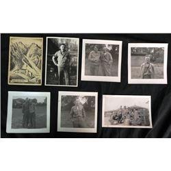 WWII U.S ETO LOT-GI'S-GERMAN THEATRE-POSTCARD INNSBRUCH