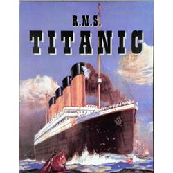 R.M.S. Titanic White Star Line Art Print 22 x 28 In