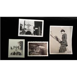 4 NAZI GERMANY BRITISH SOLDIER'S PICS OF EAGLE SWASTIKA