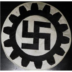 ORIGINAL NAZI DAF ATHLETIC SPORT SHIRT PATCH