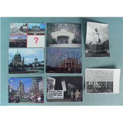 8 POSTCARDS FROM GERMANY-POSST WWII COLD WAR PERIOD