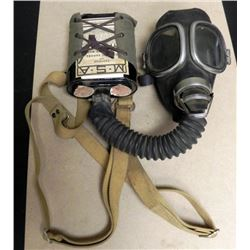 FULL GMA-1 GASMASK, CARRIER & CANNISTER VIETNAM