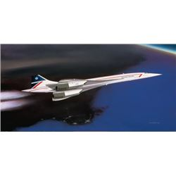 Supersonic Countess Concord Mike Machant Aviation Art