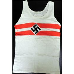 HITLER YOUTH SPORTS ATHLETIC SHIRT-ORIGINAL-RARE