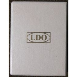 NAZI AWARD PRESENTATION LDO BOX