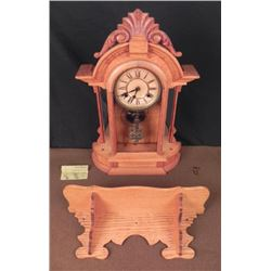 1910 OXFORD 8 DAY SPRING STRIKE ON 1/2 HOUR CLOCK