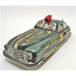 C. 1940'S TIN LITHO MARX DICK TRACY SQUAD CAR