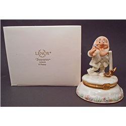 LENOX CLASSICS WALT DISNEY BASHFUL TREASURE BOX