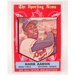 1959 TOPPS #561 HANK AARON BASEBALL CARD