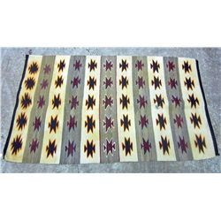 EARLY NATIVE AMERICAN INDIAN NAVAJO RUG