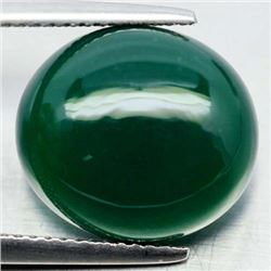 8.56 CT NATURAL GREEN BOTSWANA AGATE