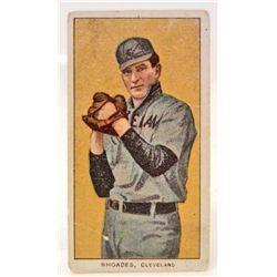 1909 - 1911 T206 RHODES SWEET CAPORAL BASEBALL CARD