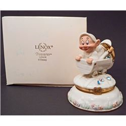 LENOX CLASSICS WALT DISNEY DOPEY TREASURE BOX