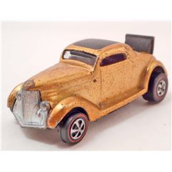 VINTAGE HOT WHEELS RED LINE 36 FORD COUPE GOLD