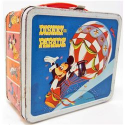 1970 DISNEY PARADE METAL LUNCH BOX - ALADDIN