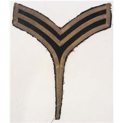 INDIAN WARS ERA WEST POINT CADET SERGEANT DRESS CHEVRON