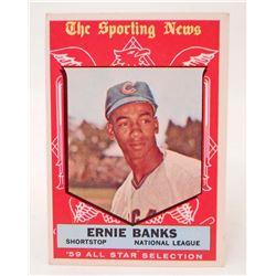 1959 TOPPS #559 ERNIE BANKS BASEBALL CARD