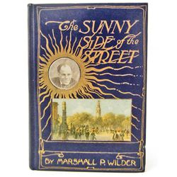 """1905 """"THE SUNNY SIDE OF THE STREET"""" HARDCOVER BOOK"""