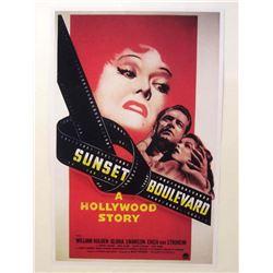 """SUNSET BOULEVARD"" MOVIE POSTER PRINT"
