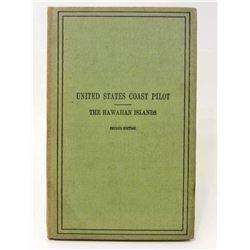"1933 ""US COAST PILOT THE HAWAIIAN ISLANDS"" HARDCOVER BOOK"