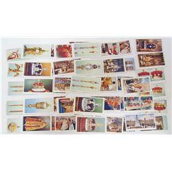 SET OF VINTAGE CHURCHMAN CIGARETTE TOBACCO CARDS