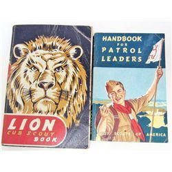 LOT OF 2 VINTAGE BOY SCOUT / CUB SCOUT BOOKS