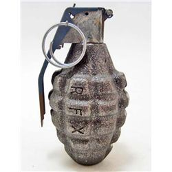 CAST IRON PINEAPPLE DUMMY GRENADE