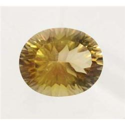 12.20 CT AZOTIC YELLOW MYSTIC AFRICAN QUARTZ