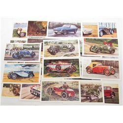 SET OF VINTAGE DONCELLA GRANDEE PLAYER CIGARETTE CARDS