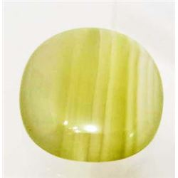 34.39 CT GREENISH YELLOW BRAZILIAN CALCITE
