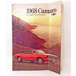 1968 CHEVY CAMARO DEALER BROCHURE