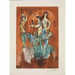 Marc Chagall : Carmen Musical Theater Art Print