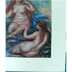 Pierre-Auguste Renoir Les Sirenes Giclee