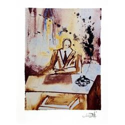 Salvador Dali The Businessman Art Print