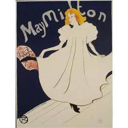 Henri de Toulouse-Lautrec : May Milton Dancer Art Print