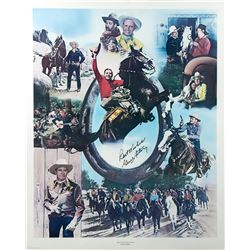 Gene Autry Signed Limited Edition Lithograph